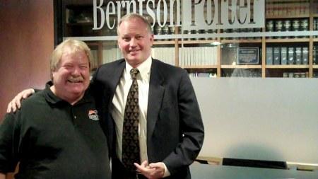 Director RJ McHatton with Bob Bernston